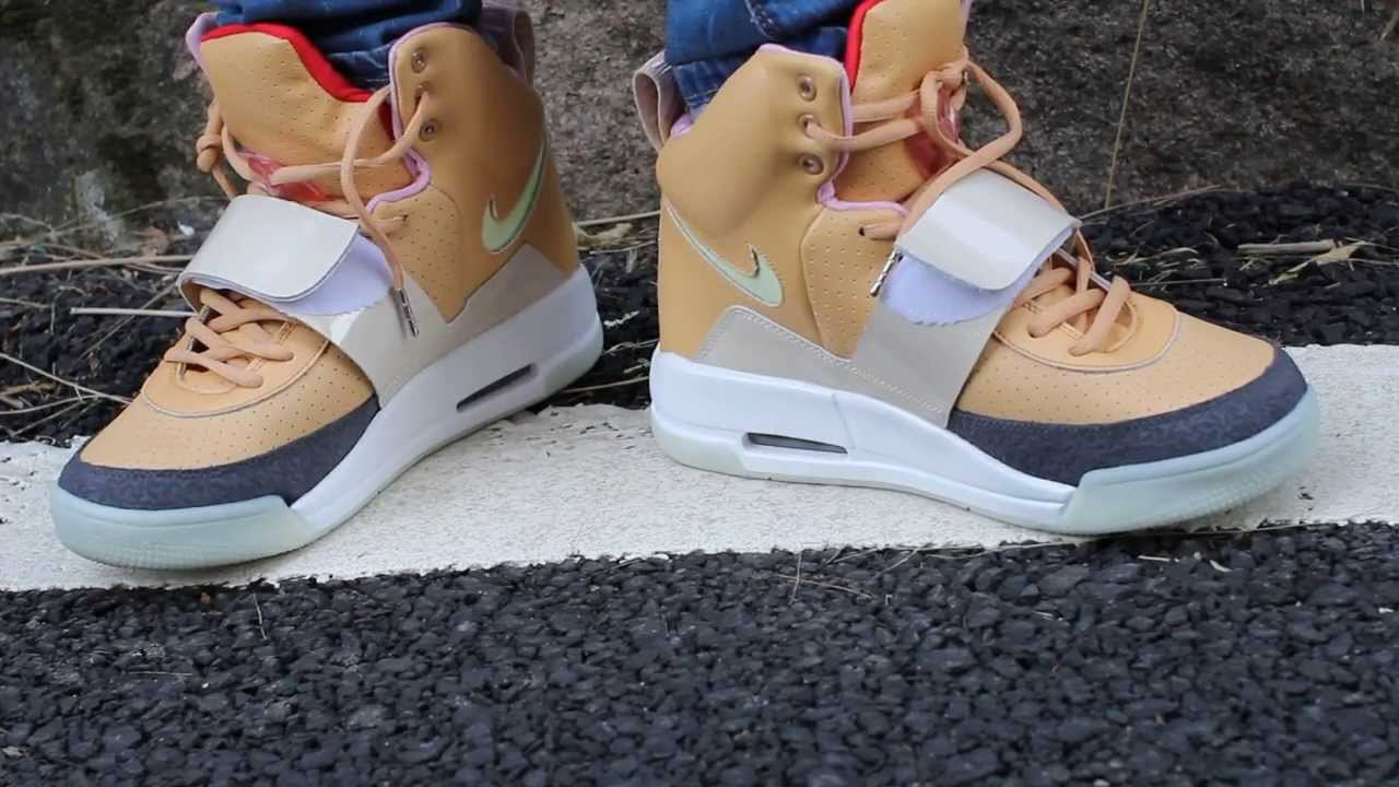 Yeezy 1 Net Net Tan instock from yeezyshopping - YouTube