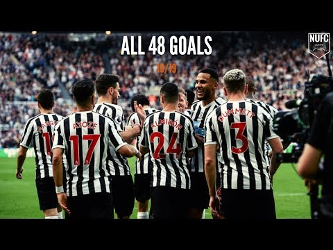 Newcastle United | All 48 Goals 18/19