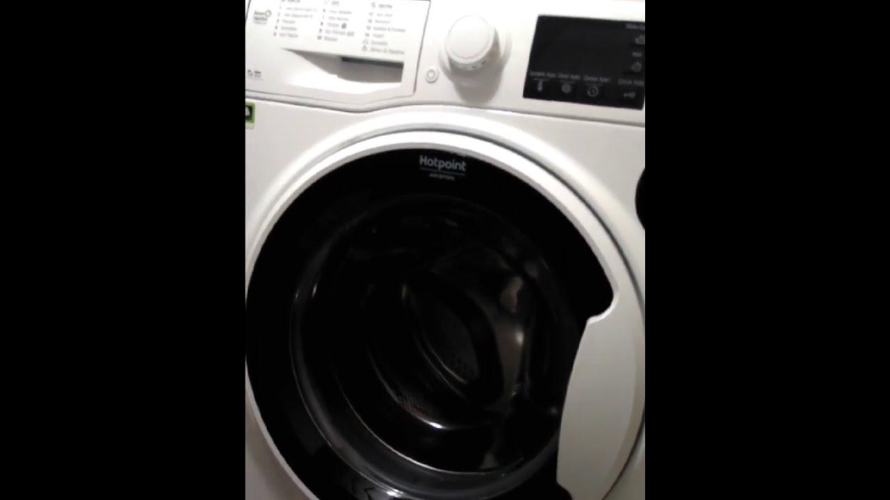 Hotpoint ariston fcpr 12440 A+++ 1400 devir 12 kg çamaşır makinesi kullanımı