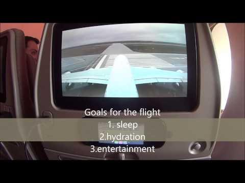DFW to DXB A380 Economy Class EK 222