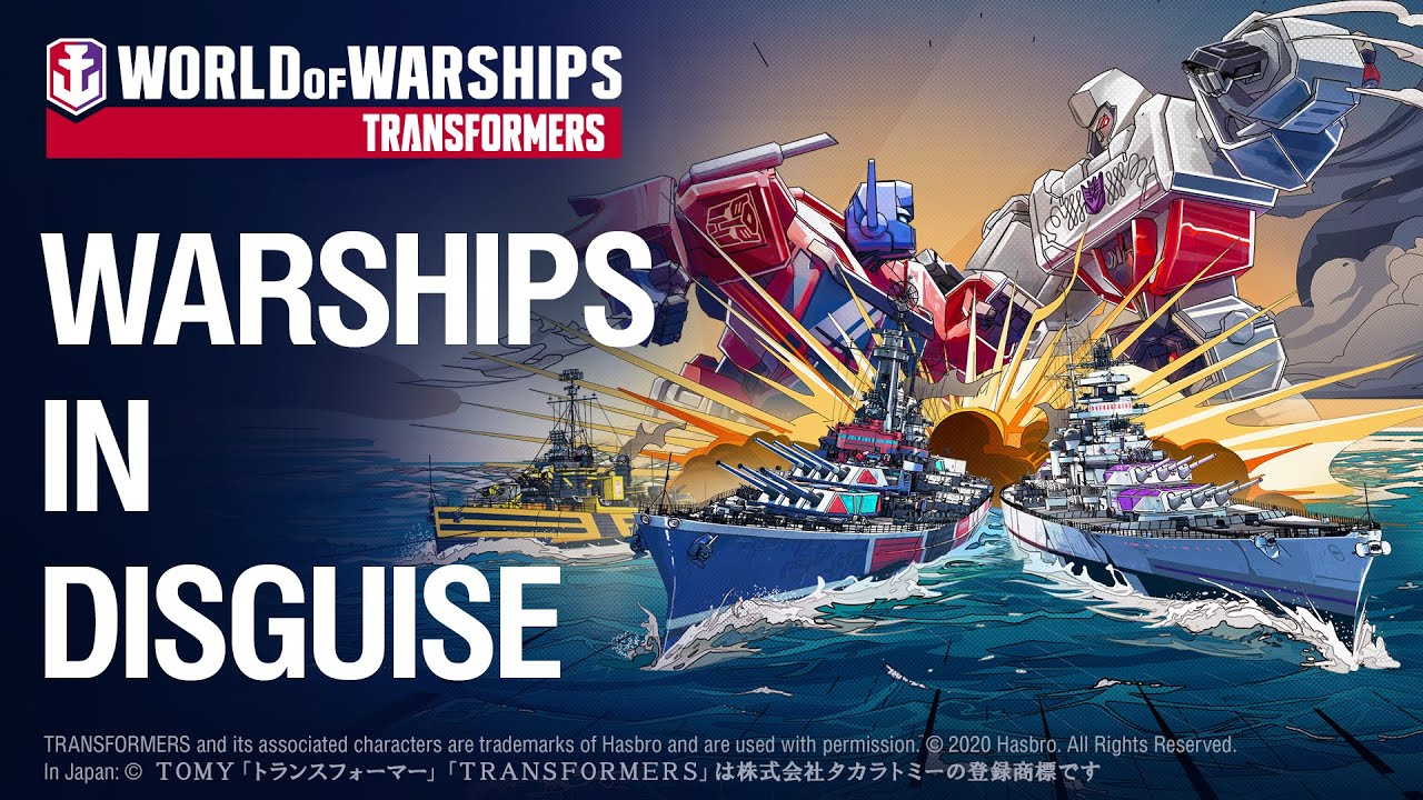 World of Warships x Transformers Official Launch Trailer and Stream!
