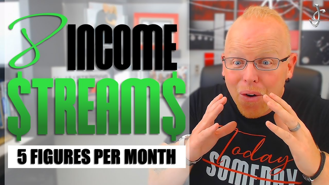 MULTIPLE INCOME STREAMS FOR BEGINNERS (What NO ONE ELSE is Telling You) Passive and Non Passive