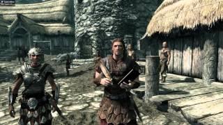 The Elder Scrolls V Skyrim. 2016 gameplay.