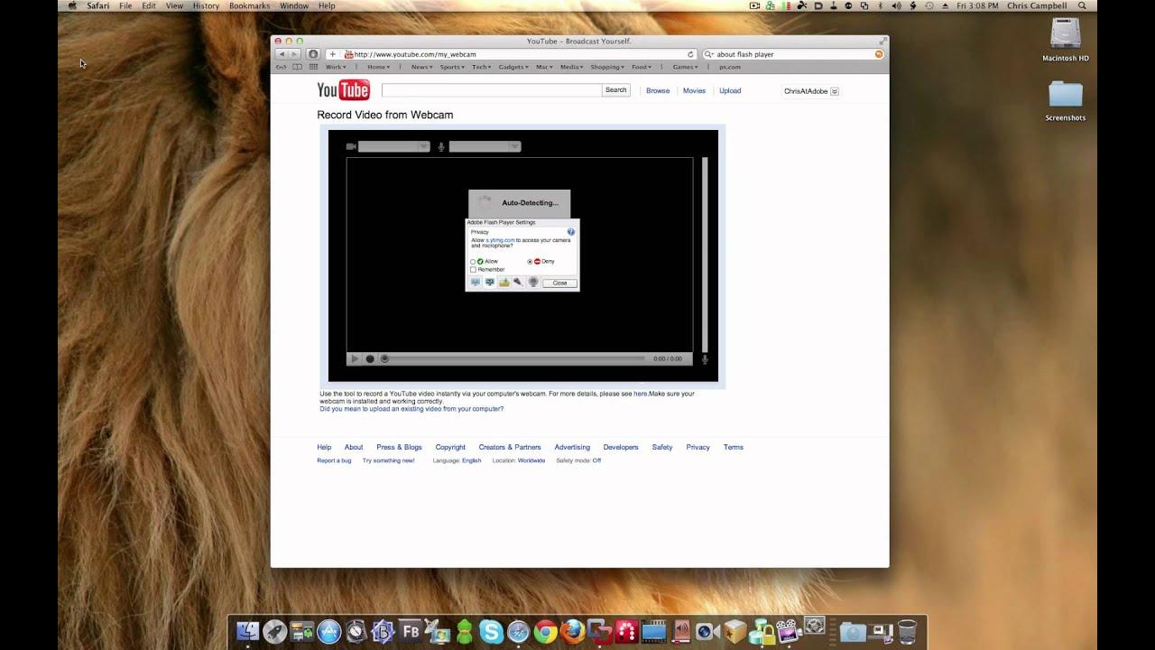 adobe flash player 11.1 mac 10.4