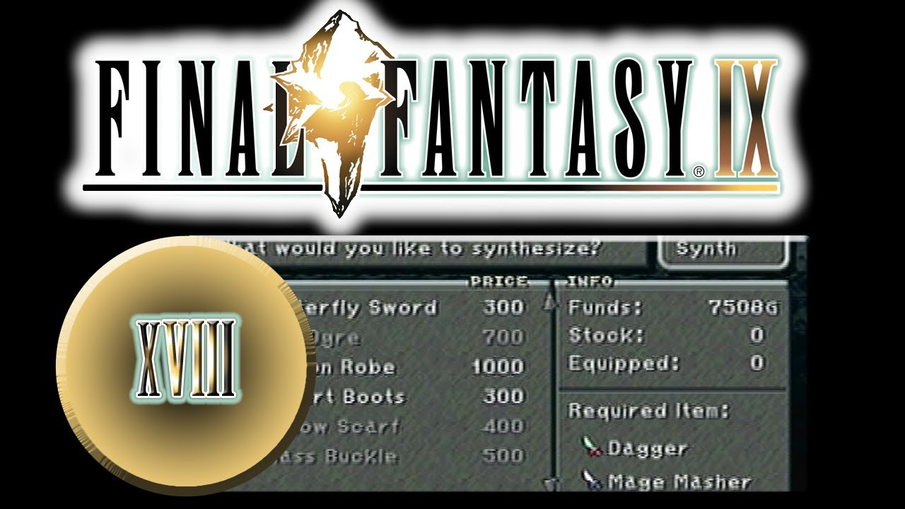 J-Play | Final Fantasy IX (Blind), Part 18 [I Want That Butterfly Sword!]