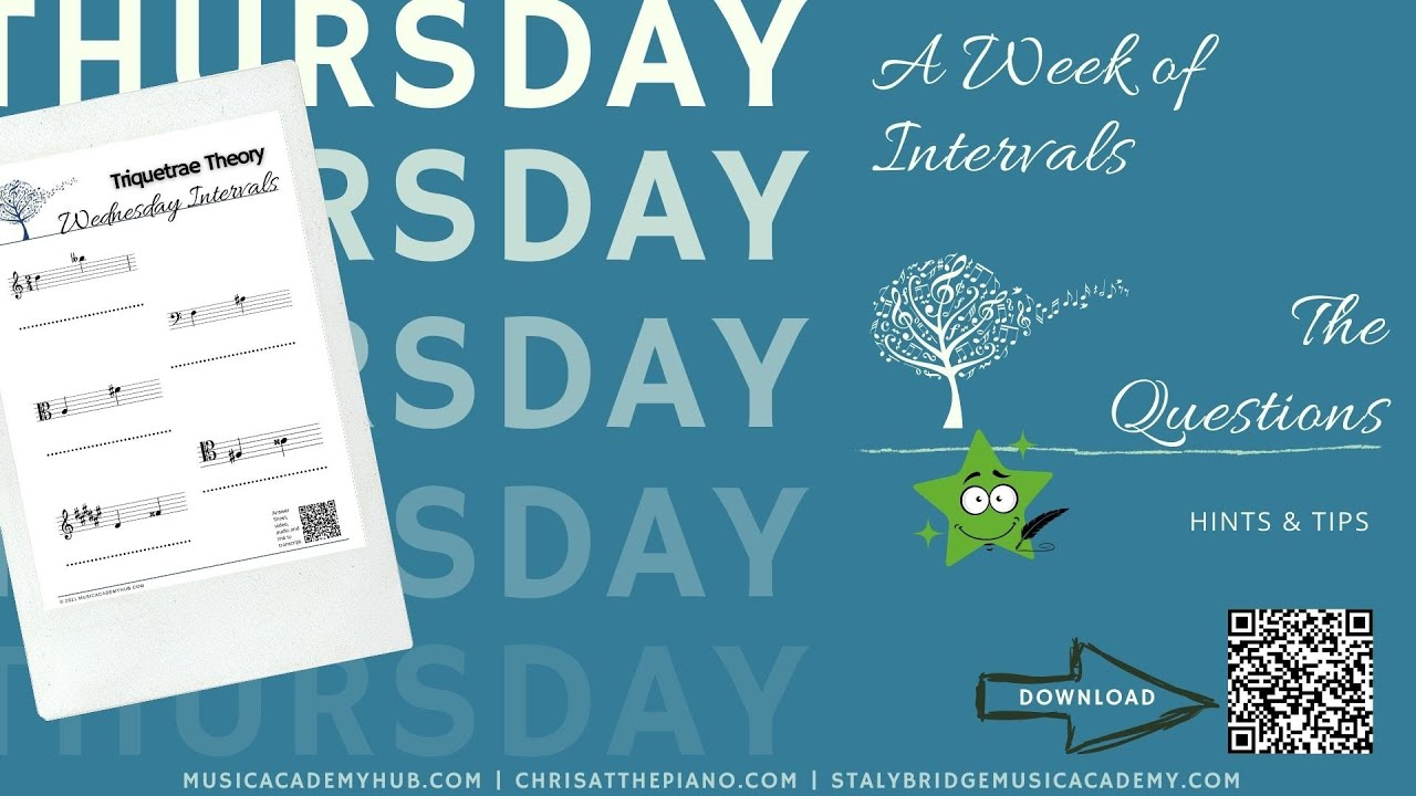 A Week of Intervals - Thursday Questions; Hints & Tips