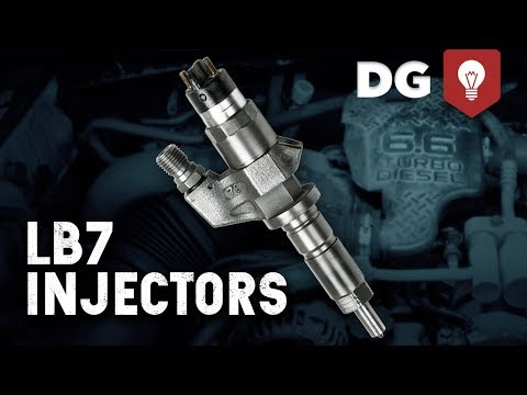 LB7 Injector Replacement for 2001-04 Duramax