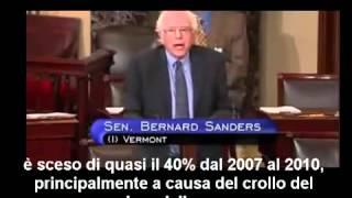 Senatore Bernie Sanders: il corrotto potere internazionale.