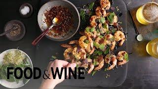Grilled Shrimp Skewers With Shrimp Butter | Recipe | Food & Wine