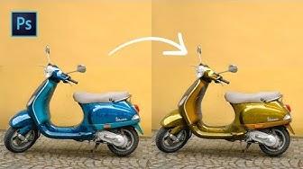 [Photoshop] : Comment changer la couleur d'un objet en 1 min ?