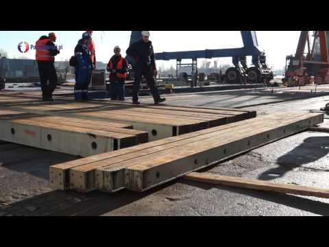 Suwnica bramowa w Remontowej Shipbuilding S.A.