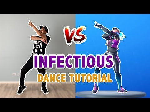 How To Do The Infectious Dance In Real Life (Fortnite) | New Fortnite Dances