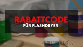 20% RABATT für FLASHDRYER/ZWISCHENTROCKNER