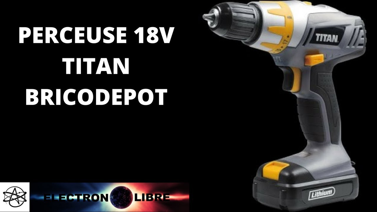 Perforateur 1500w Titan Bricodepot Youtube