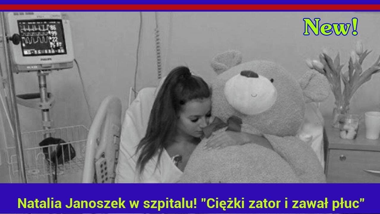 """Natalia Janoszek w szpitalu! """"Ciężki zator i zawał płuc"""""""