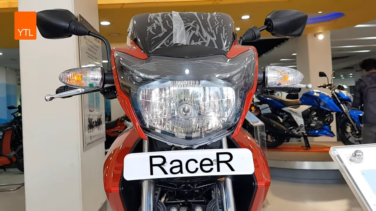 New TVS Apache RTR (160CC ) Red Mixed with Black
