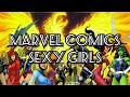 Marvel comics Sexy Girls / красивые девушки вселенной Marvel