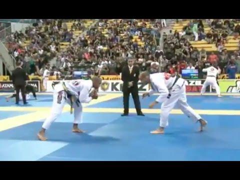 Bernardo Faria vs Erberth Santos  2015 IBJJF Worlds Absolute