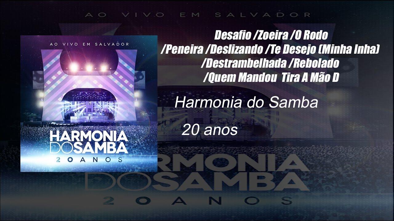 cd harmonia do samba 20 anos