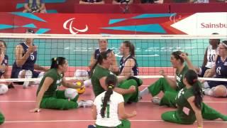 Sitting Volleyball - USA vs BRA - Women