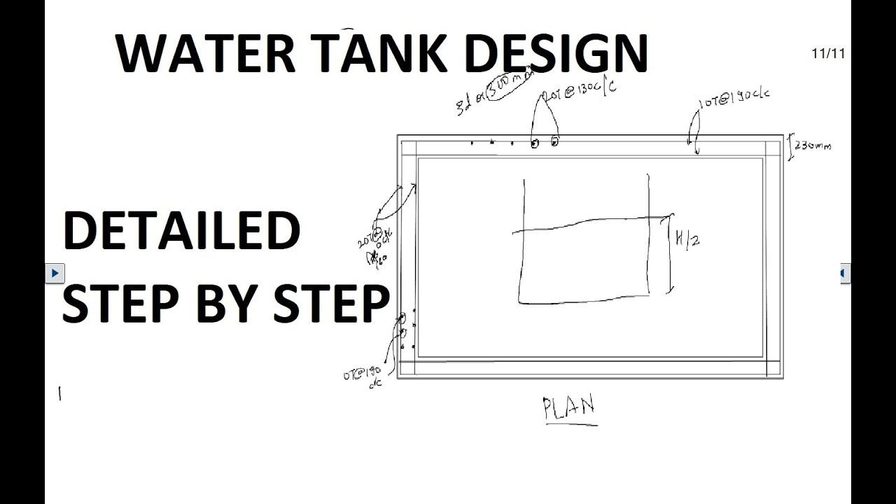 Rcc Water Tank Drawing | gdlawct com