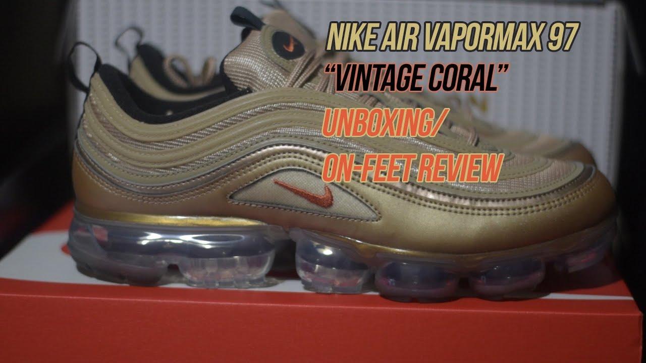 8f23f13744910 Air Vapormax 97  Vintage Coral