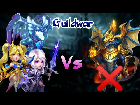 Guildwar | Killing Zephyrica This Time | Insane Dragon | 10000+ Score | Castle Clash