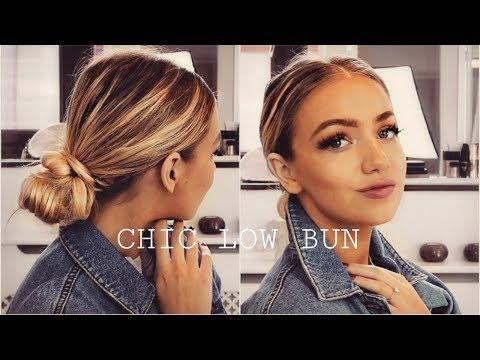 sleek-bun-hair-tutorial