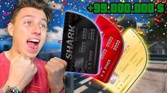 10.000.000$ Shark Card Pack Opening in GTA 5 !