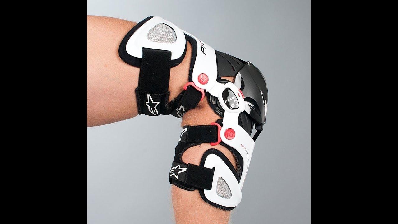 Mx Knee Braces >> Alpinestars Fluid Pro Motocross Knee Brace Review - BTO Sports - YouTube