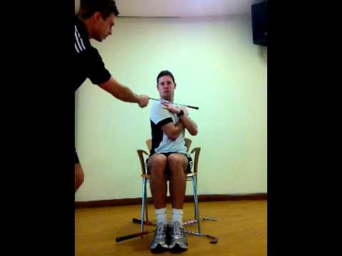 Image result for TPI seated rotation