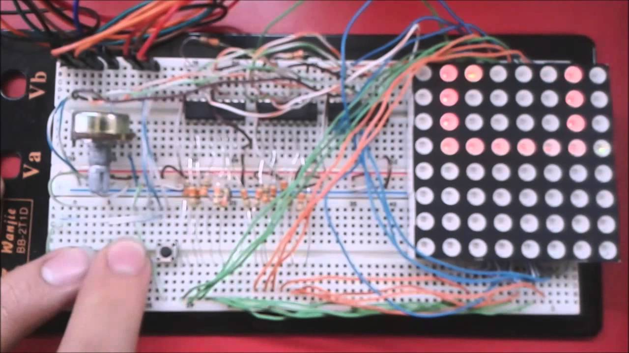 Snake game using arduino video youtube