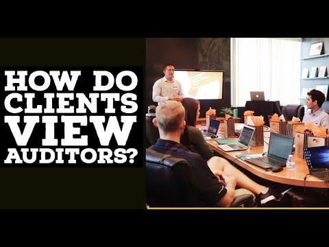 How do clients view Big 4 Auditors