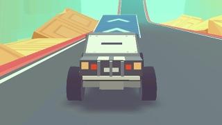 3D Монстр Трак: Небесные трассы (3D Monster Truck: Skyroads) // Геймплей