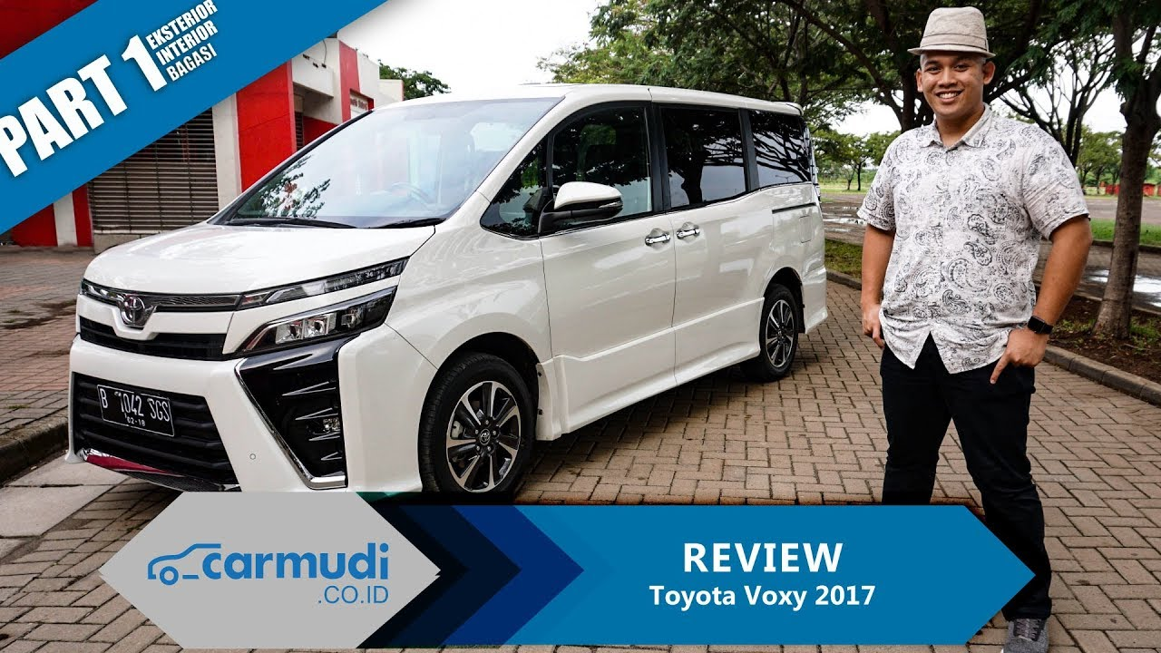 Toyota Vehicles 2017 >> Review Toyota Voxy 2017 Indonesia Si Fleksibel Part 1 Dari 2