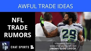 NFL Trade Rumors: Awful Trade Ideas Like Earl Thomas To Cowboys  And Adrian Peterson To Seahawks