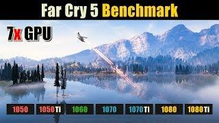 Far Cry 5 - i3 4150 - 8GB RAM - GTX 1050ti - Benchmark
