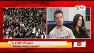 GSTV | Güzel Oyun'da Nazlı Öztürk ve Serem Tan'ın Konuğu Blerim Dzemaili