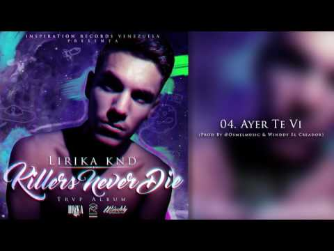 Lirika KND - Ayer Te Vi 💔 (Audio)