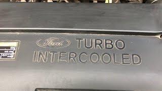 Чистим клапан EGR и впускной тракт  Ford Connect 1,8TD