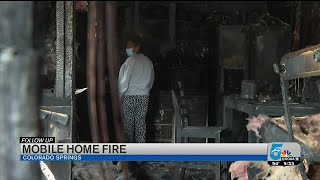 Local Family Recovering After Mobile Home Fire In Southeast Colorado Springs