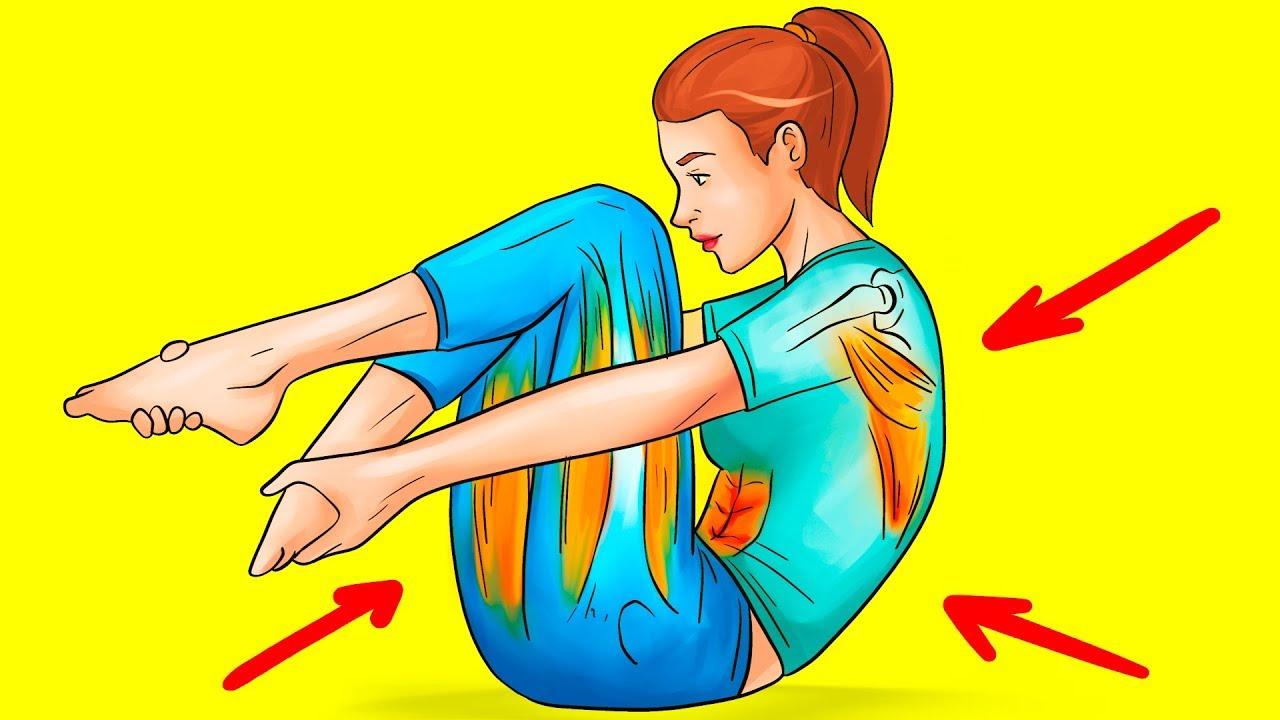 10 средств для облегчения боли в спине за 5 минут