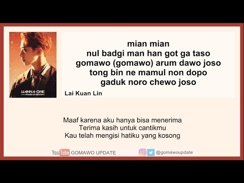 Easy Lyric WANNA ONE - SPRING BREEZE By GOMAWO [Indo Sub]