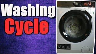 AEG 9000 Series L9FSC969R 9Kg Washing Cycle