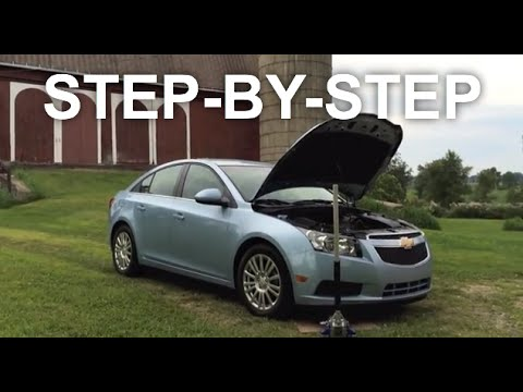 Chevy Cruze Serpentine Belt Replacement - EASY FIX - YouTube