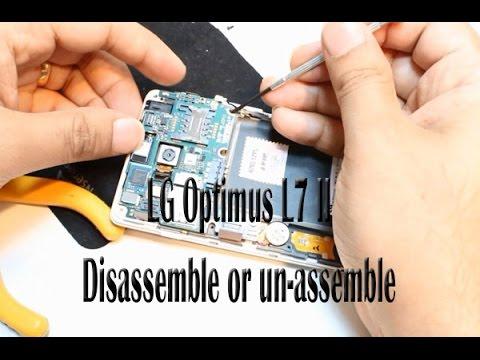 LG Optimus L7 II Disassemble or unassemble