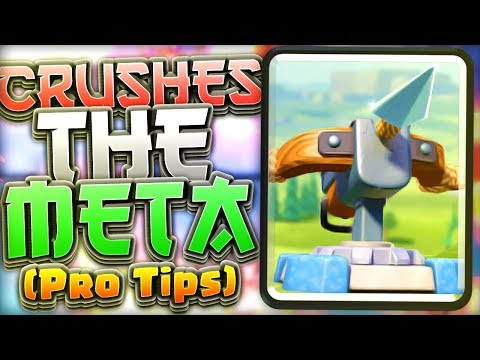 DESTROYS THE META!! Fast Xbow Cycle Deck (Pro Tips) — Clash Royale