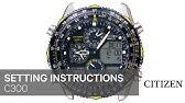 6ab9c656214 OFFICIAL CITIZEN C660 Setting Instruction - YouTube