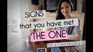 Signs you have met