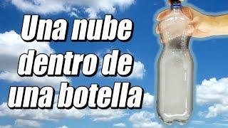 nube en una botella cómo se hace